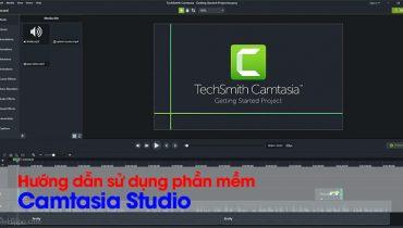 Hướng dẫn cắt ghép video với phần mềm Camtasia Studio (1)
