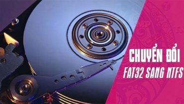 Hướng dẫn chuyển từ FAT32 sang NTFS không mất dữ liệu (2)