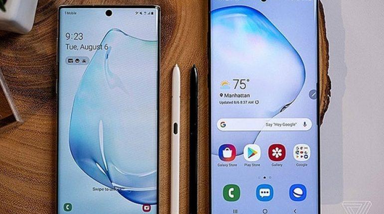 Galaxy Note 10+ được lựa chọn nhiều hơn so với Note 10