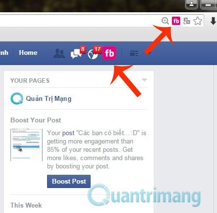 Đổi màu giao diện Facebook (1)