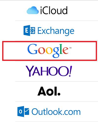 Đồng bộ Gmail với iPhone (2)