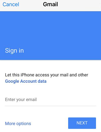 Đồng bộ Gmail với iPhone (3)