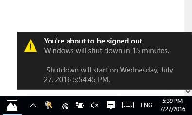 Hẹn giờ tắt máy tính