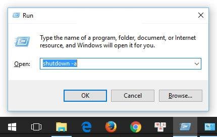 Cách hẹn giờ mắt máy tính đơn giản