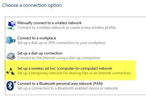 Làm thế nào để kết nối hai máy tính xách tay mạng không dây