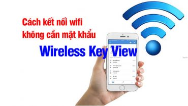 Cách kết nối wifi không cần mật khẩu