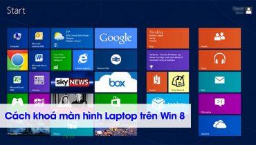 Khóa màn hình máy tính trên Windows 8 (1)