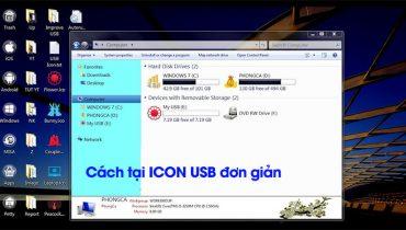 Hướng dẫn cách tạo icon cho USB (2)