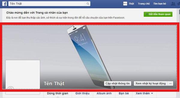 Cách tạo tên Facebook có màu đơn giản