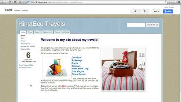 Tạo Website bằng Google Site (1)