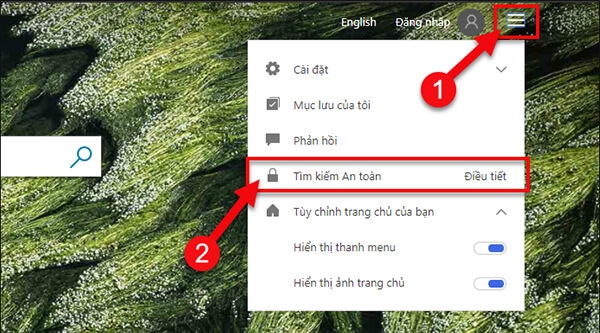 Chặn từ khóa tìm kiếm trên Bing