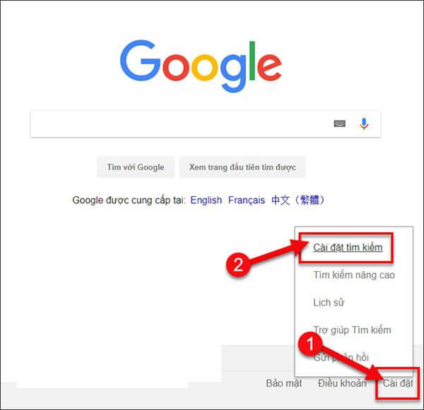 Chặn từ khóa tìm kiếm trên Google