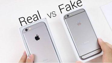 Quan sát quy cách đóng gói sản phẩm iPhone chính hãng