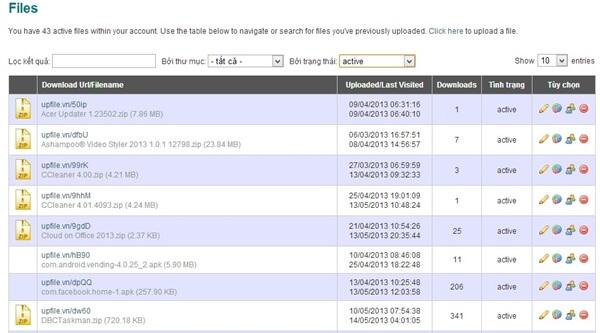 Dịch vụ lưu trữ đám mây Upfile.vn (5)