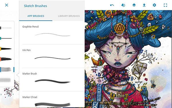 Ứng dụng Pic Sketch cho iOS