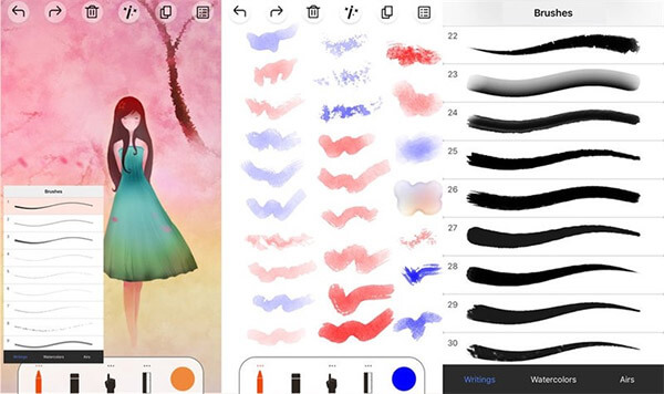 App chỉnh sửa ảnh Artist's Sketch