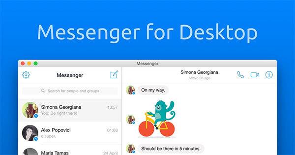 Cài đặt ứng dụng Facebook Messenger cho máy tính