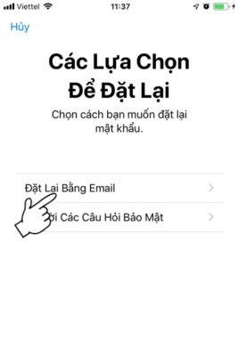 Mở khóa iPhone bị dính iCloud bằng gmail (1)