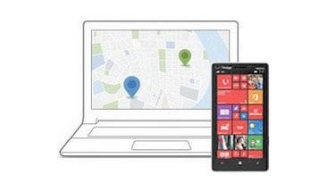 Tìm kiếm điện thoại Windows Phone bị mất