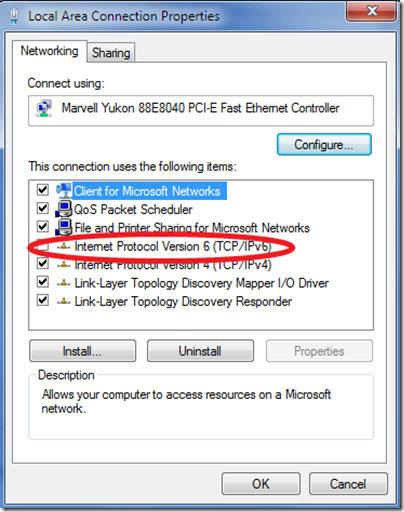 vô hiệu hóa vĩnh viễn IPv6 (1)