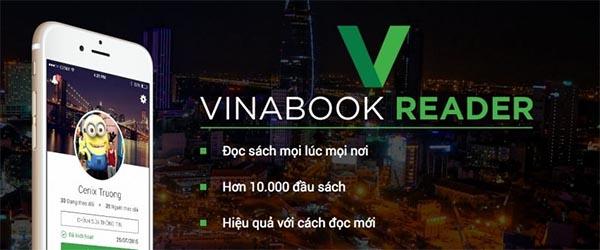 Vinabook Reader với lựa chọn hơn 10.000 đầu sách thuộc mọi thể loại