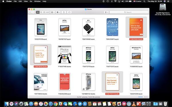 iBooks hỗ trợ đọc sách trên thiết bị iOS