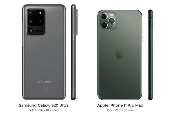 So sánh Galaxy S10 Ultra và iPhone 11 Pro Max