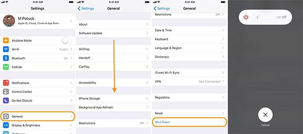 Cách tắt nguồn iPhone 11 hiệu quả ngay tại menu Cài đặt