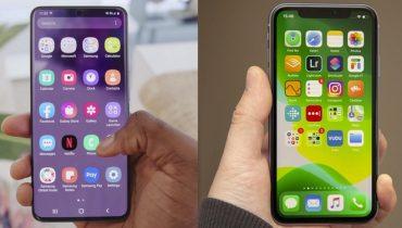 So sánh Galaxy S20 và iPhone 11 (2)
