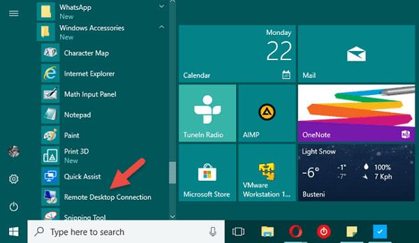 Kích hoạt tính năng Remote Desktop trên máy tính Windows