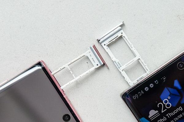 Galaxy Note 20 sẽ có phiên bản hỗ trợ 2 sim cho từng thị trường (ảnh minh họa)