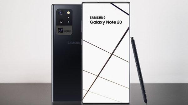 Ảnh minh họa Galaxy Note 20.