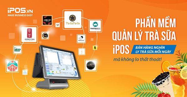 Phần mềm quản lý nhà hàng IPOS giúp quản lý bán hàng