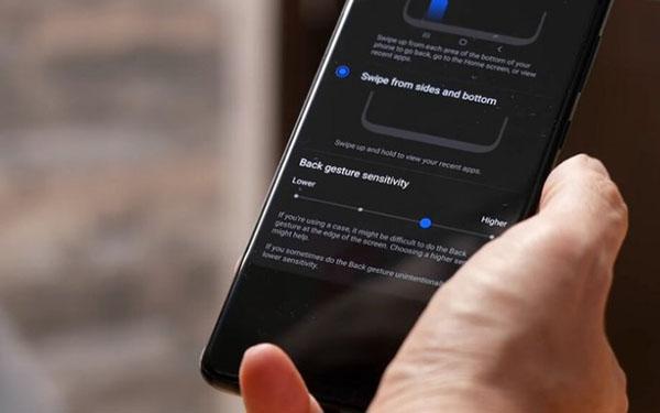 Cách tăng độ nhạy cảm ứng điện thoại Samsung