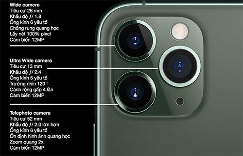 Thiết kế camera sau iPhone 11 Pro Max