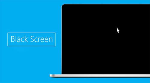 Lỗi màn hình đen Windows 7 chỉ có chuột