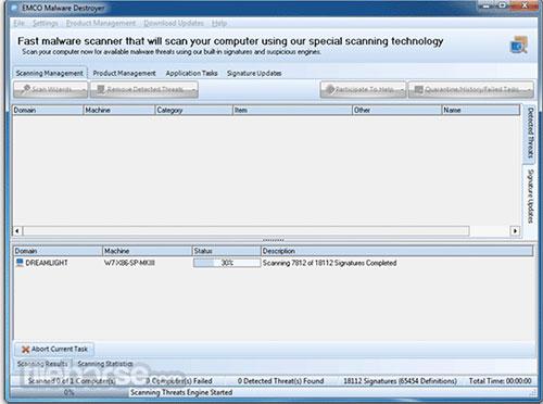 Phần mềm EMCO Malware Destroyer khuyên dùng cho Windows