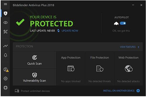 Phần mềm Bitdefender Antivirus trả phí