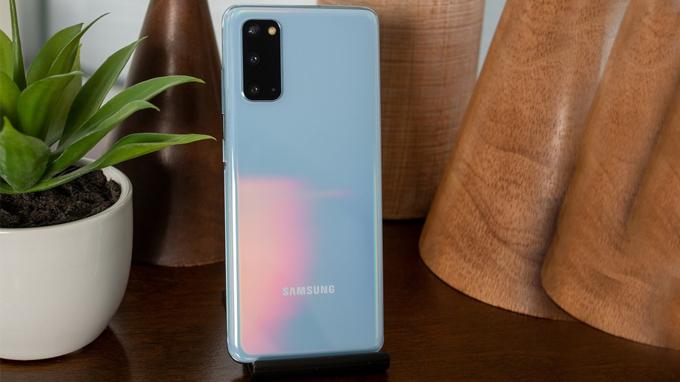 Samsung Galaxy S20 màu Xanh