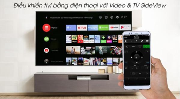 Cách điều khiển tivi Sony bằng điện thoại