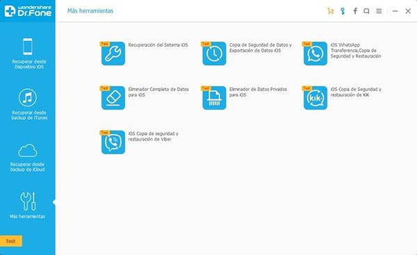 Tải và cài đặt ứng dụng Wondershare Dr.Fone for iOS cho máy tính