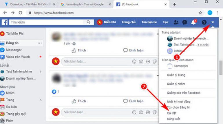 Sử dụng tính năng lưu trữ tin nhắn trên Facebook