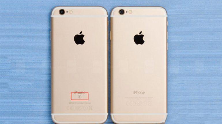 Phân biệt iPhone 6 và iPhone 6s qua ngoại hình