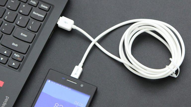 Chuyển ảnh từ điện thoại Oppo sang máy tính bằng dây cáp USB