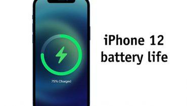Đánh giá pin iPhone 12 từ các thông số