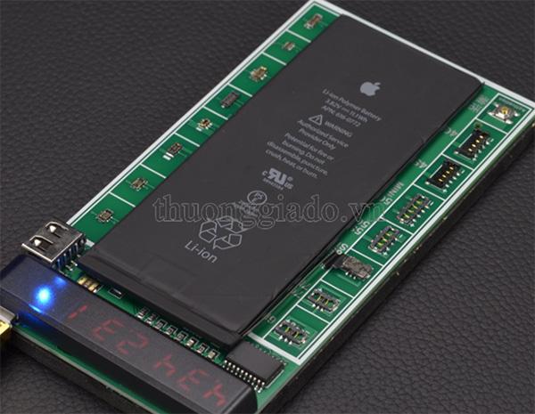 Cách 2: Kích pin điện thoại sử dụng bộ kích pin cho điện thoại đời cao