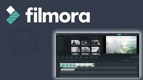 Phần mềm cắt video Filmora Video Editor