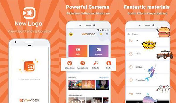 Ứng dụng quay video VivaVideo phổ biến