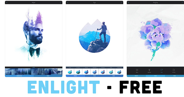 Ứng dụng Enlight chỉnh sửa ảnh ảo diệu