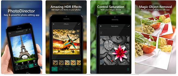 PhotoDirector cung cấp nhiều phương thức vẽ hình